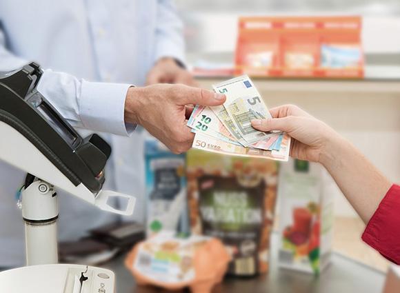 geld abheben norma
